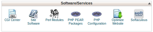 Select Optimize Website from cPanel Main Page